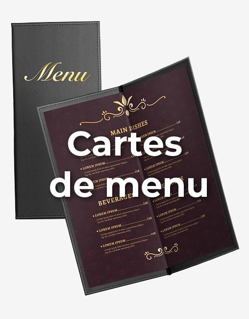 Carte de menus