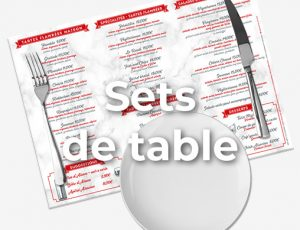 Sets de table
